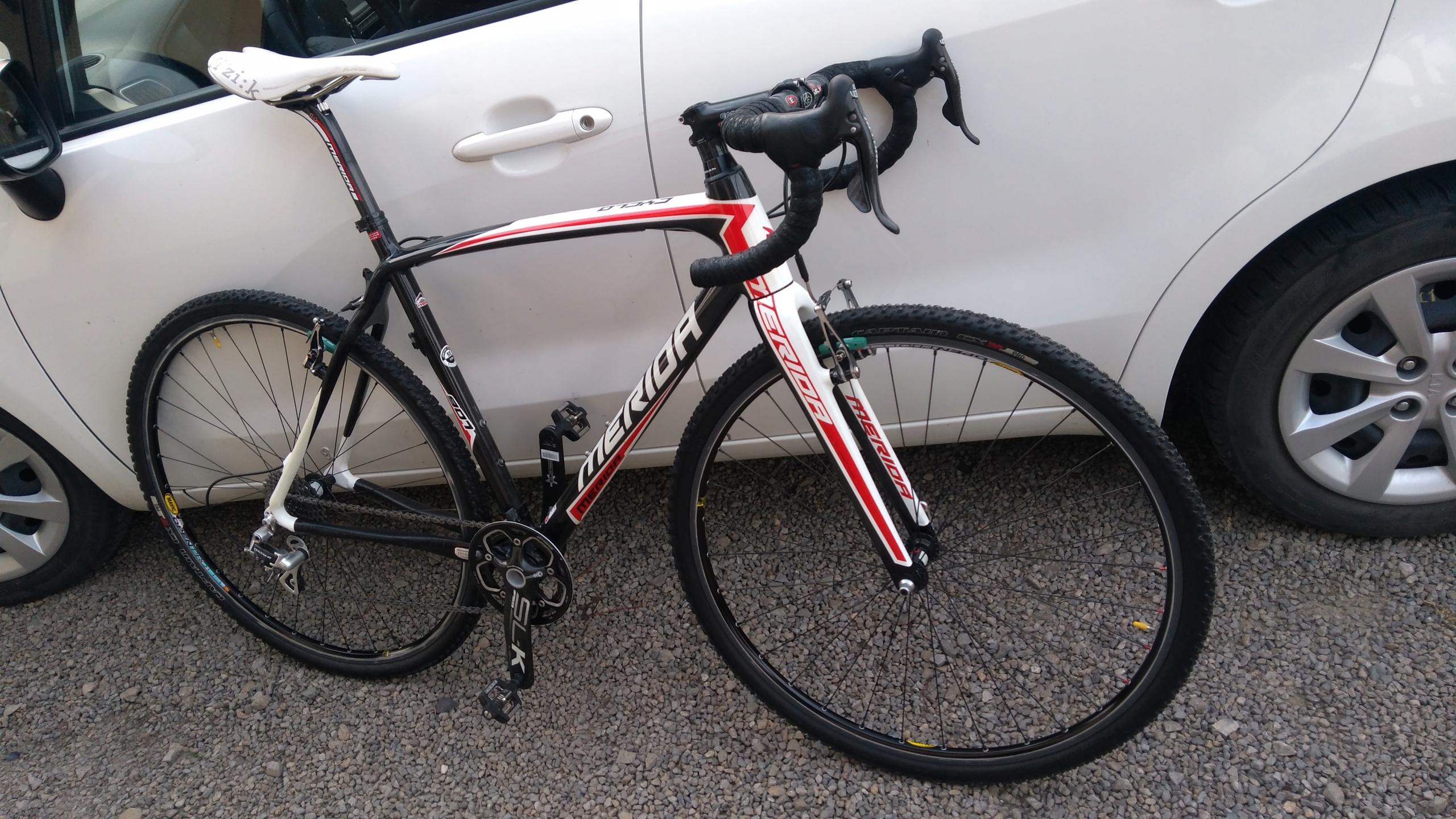 Merida cyclocross CF 907 CARBON 55 cm - przełaj