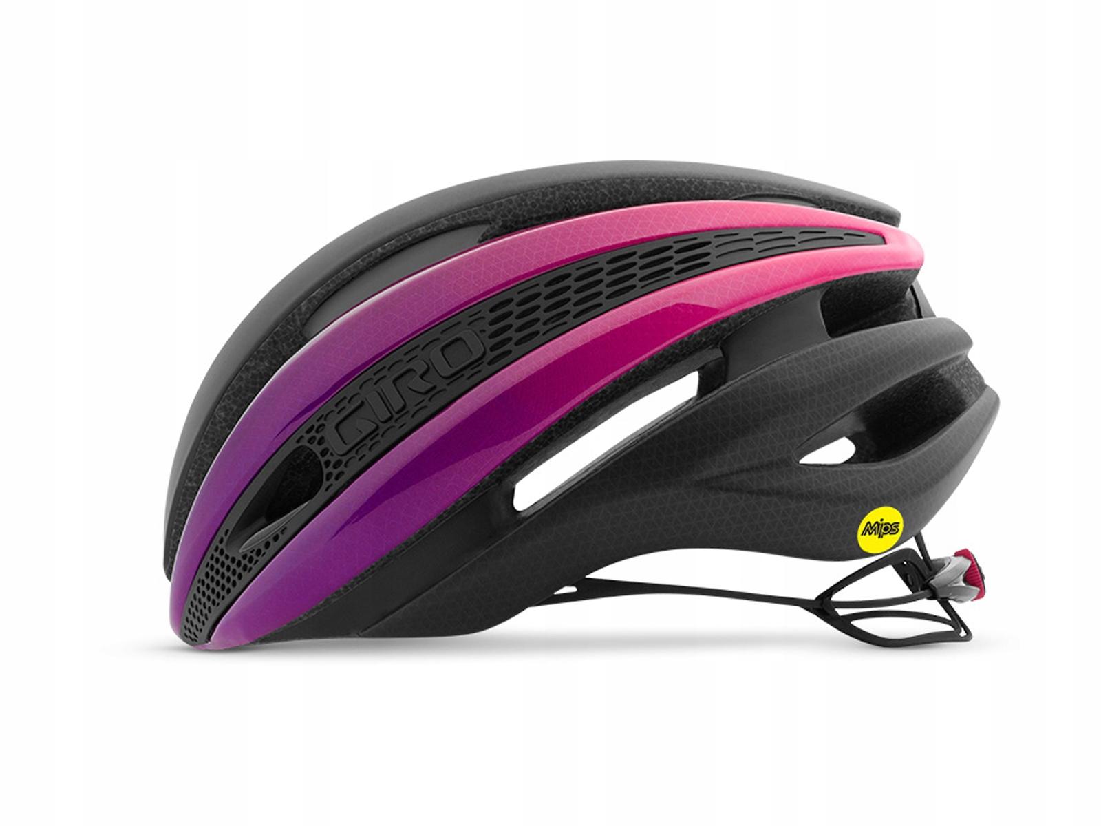 Giro Kask Synthe MIPS Matte Black/ Pink M 55-59
