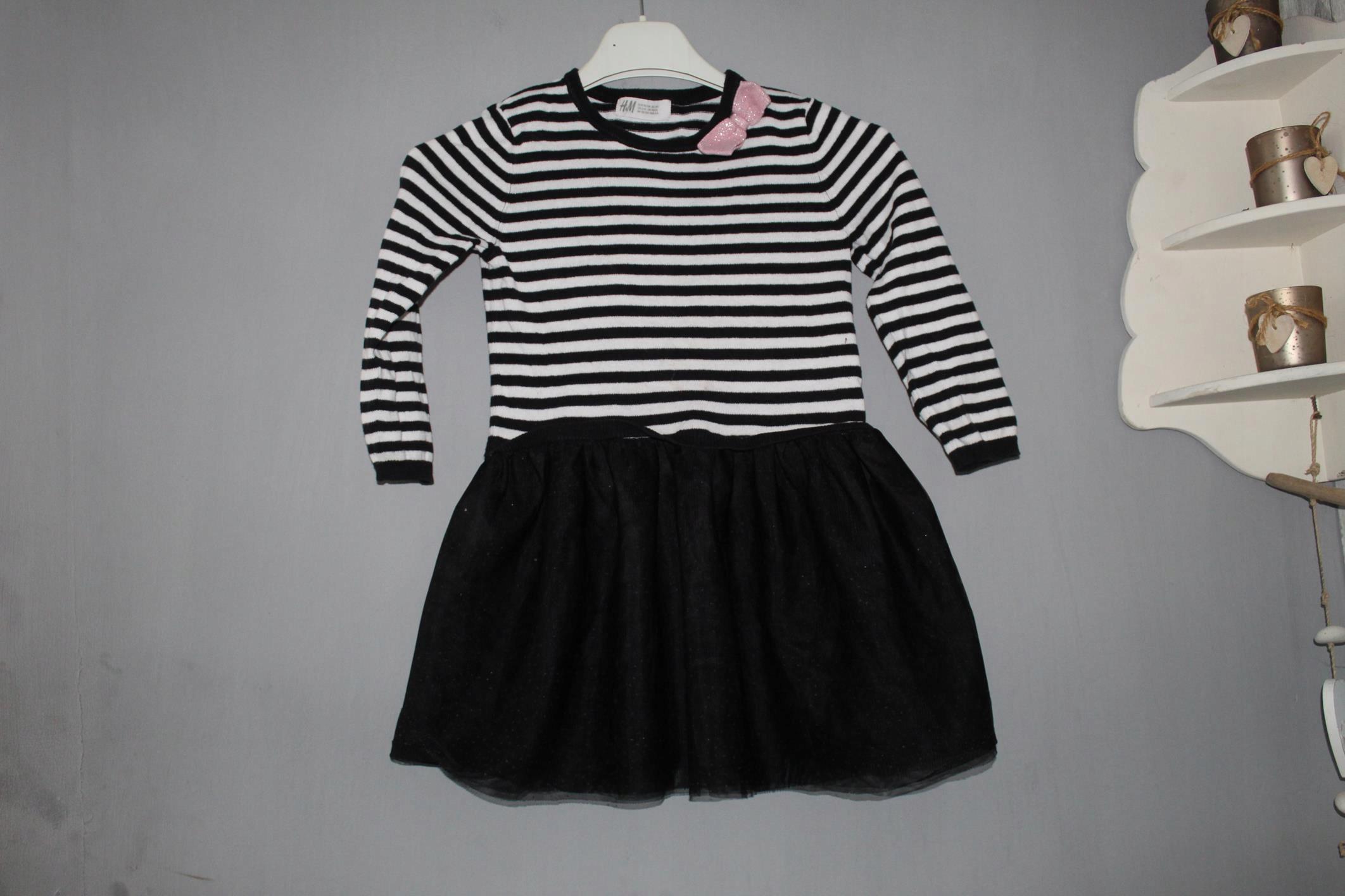 tunika sukienka H&M tiul 98-104