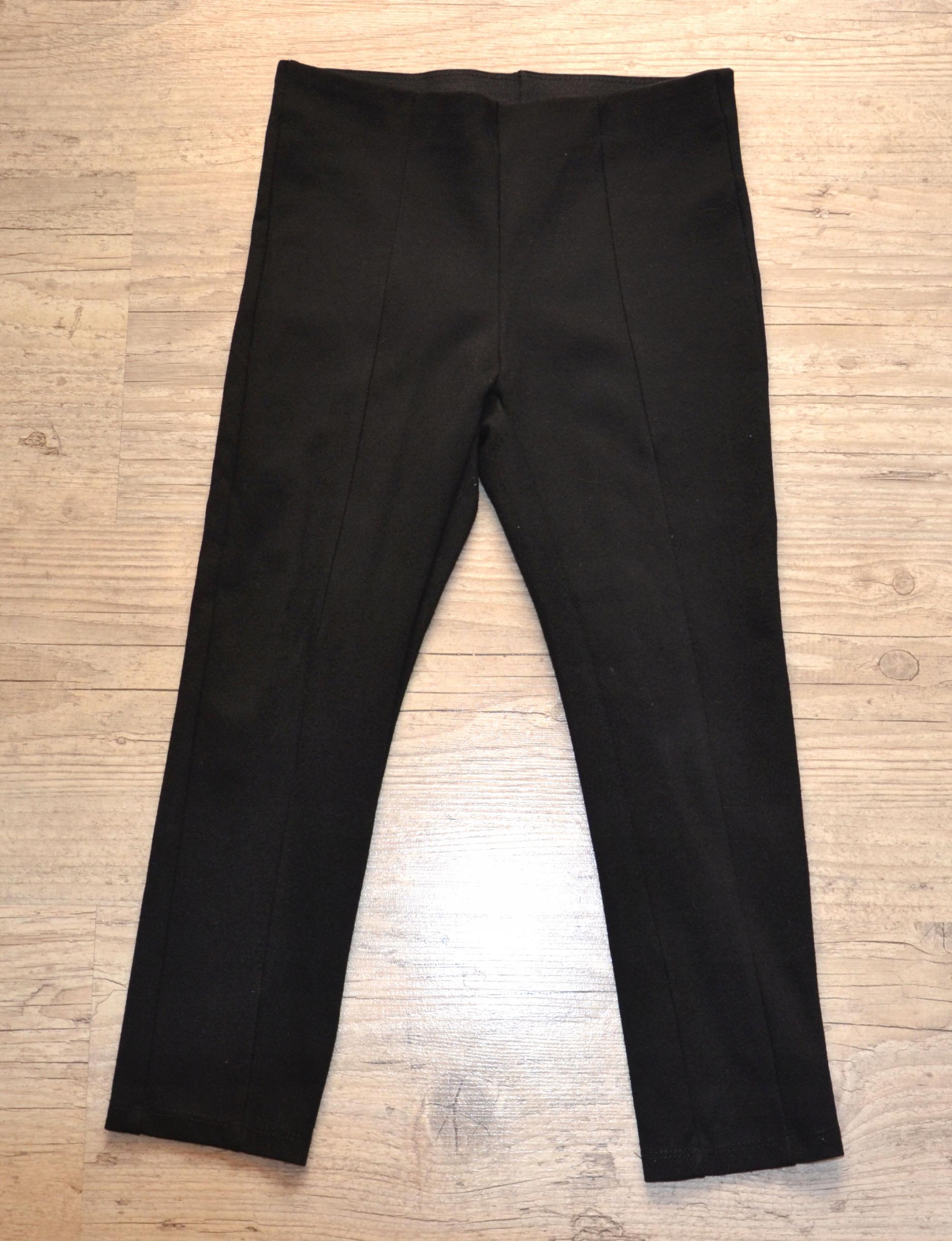 ZARA czarne spodnie rozm. 122,