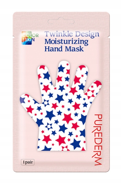 PUREDERM maska nawilżająca do rąk 1 para