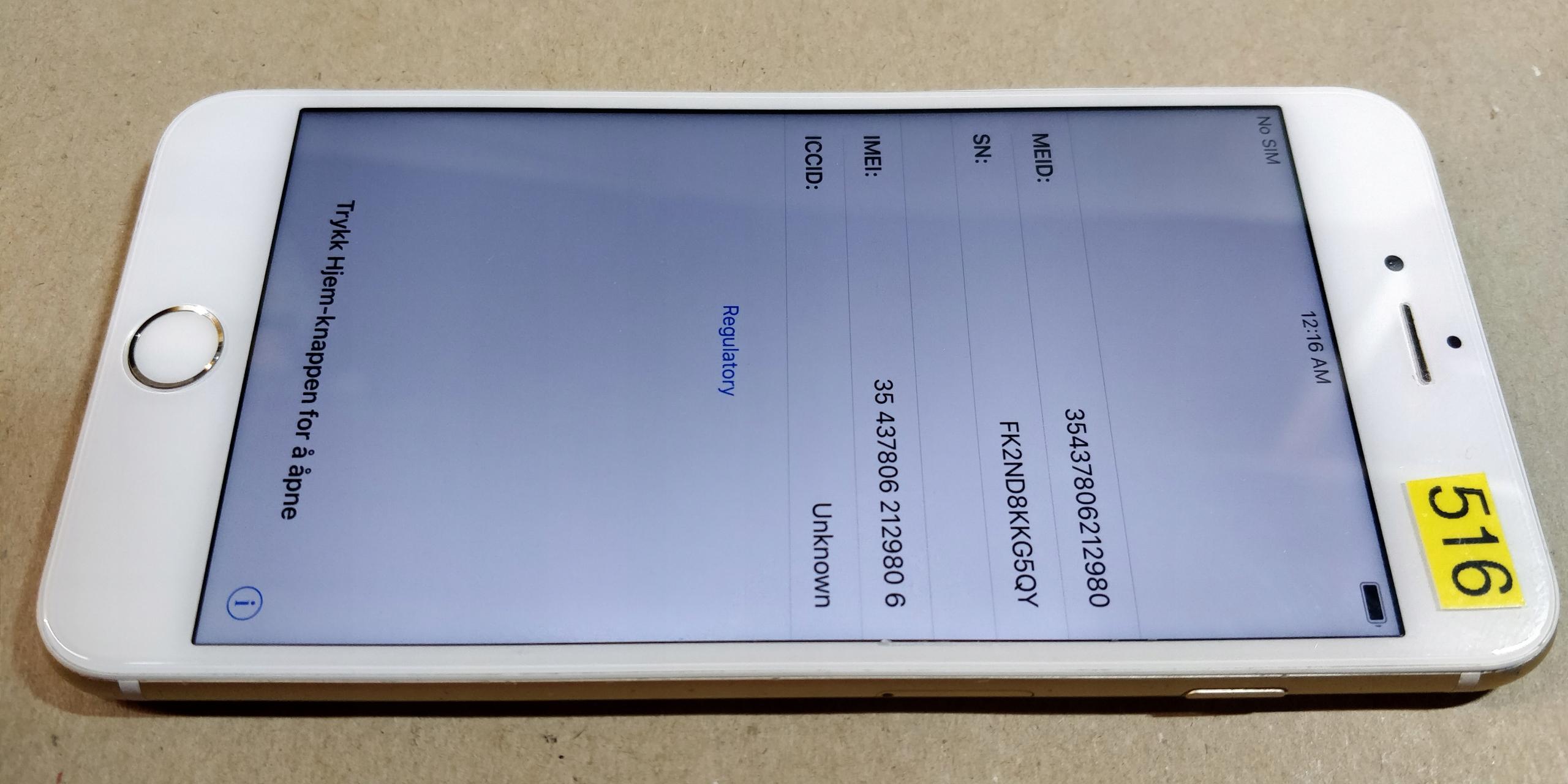 Iphone 6 plus BCM od 1zl (516