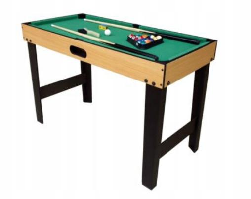 Tesco Stół do gry w bilard pool 3 FT