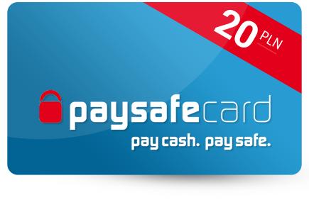 Paysafecard 20 PLN