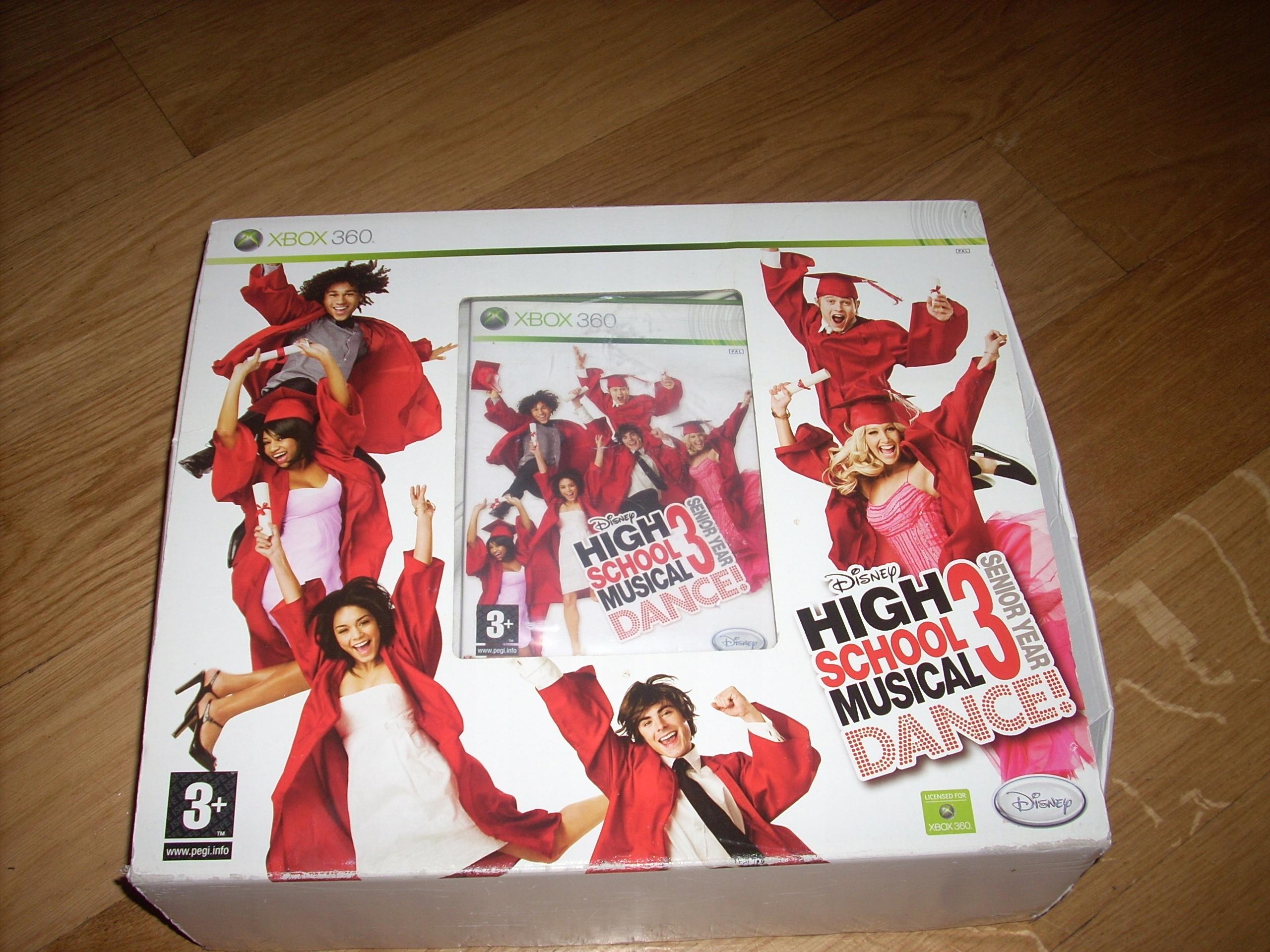 Xbox 360 High school musical 3 senior year: dance