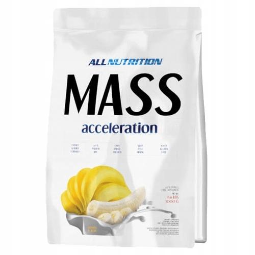 ALL NUTRITION MASSA CCELERATION1000 karmel +GRATIS