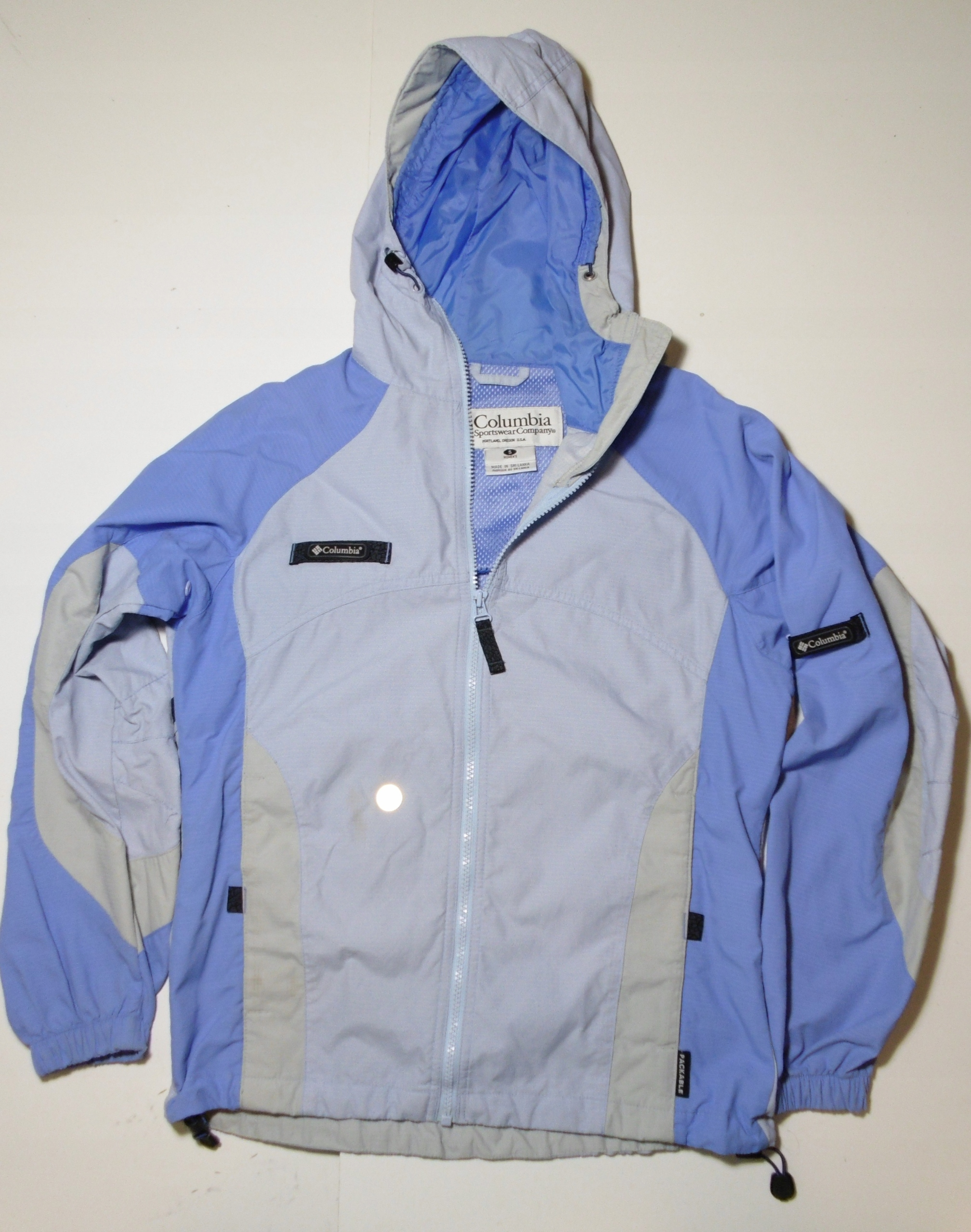 COLUMBIA Packable trekkingowa kurtka damska S