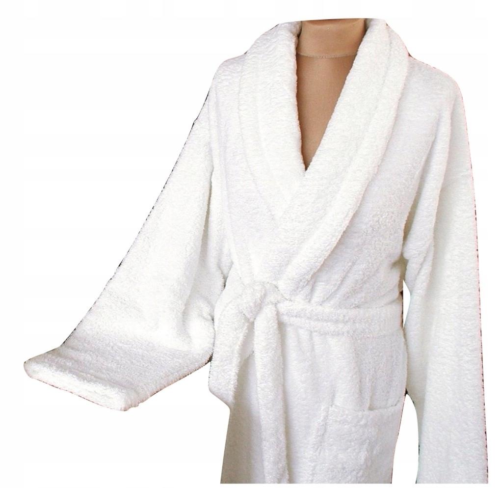 Szlafrok Hotelowy Exclusive biały XL Greno hotel
