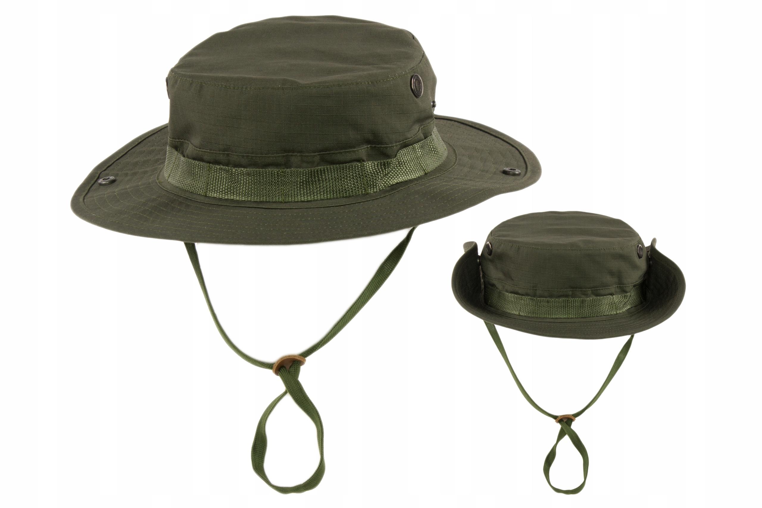 Turystyczny Kapelusz Wojskowy Zielony Texar R.59