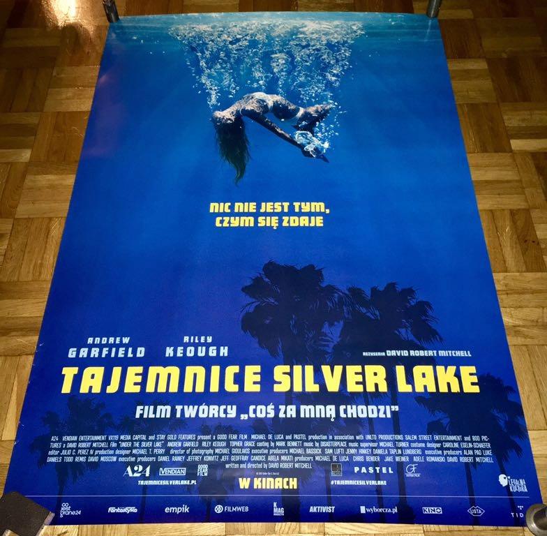 Plakat Tajemnice Silver Lake 7575024179 Oficjalne