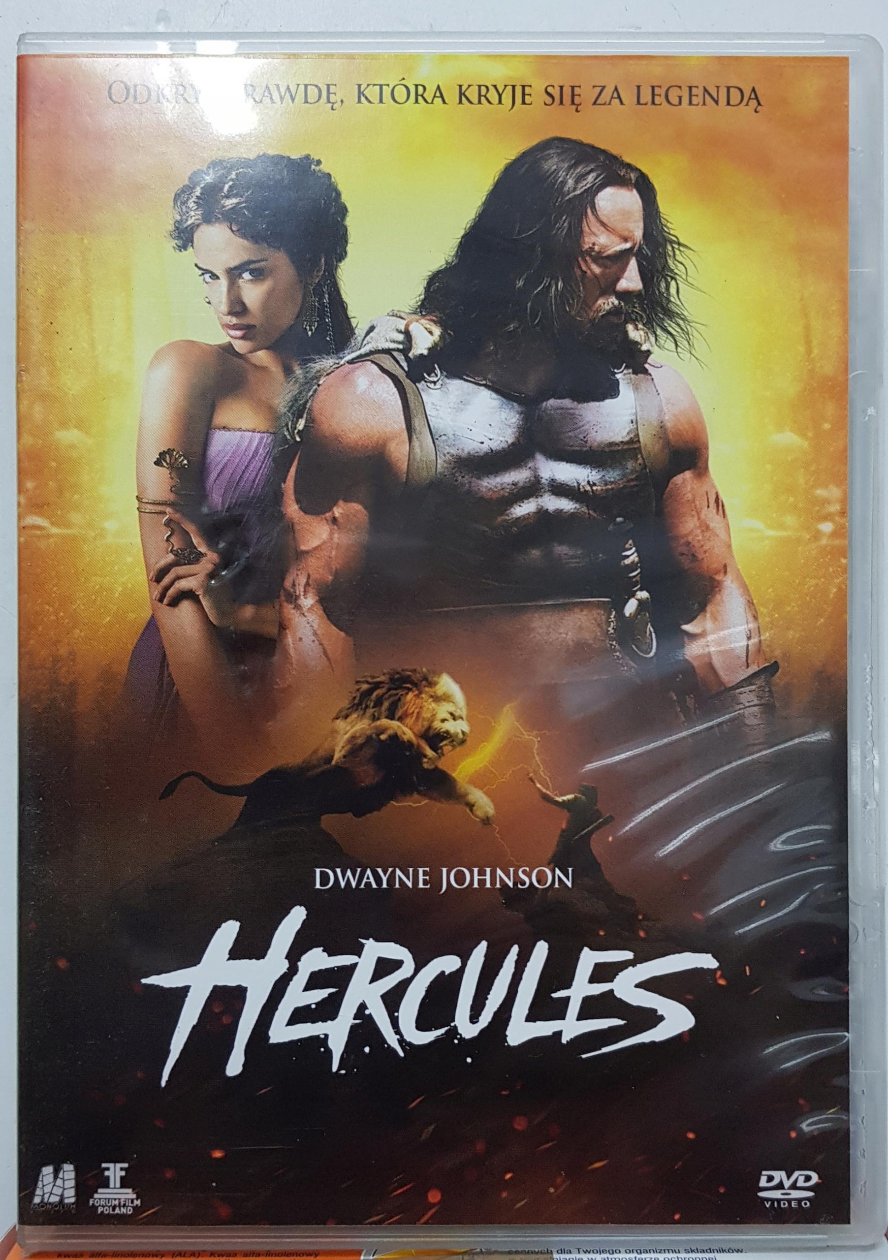 7 Hercules Dwayne Johnson Ian McShane DVD