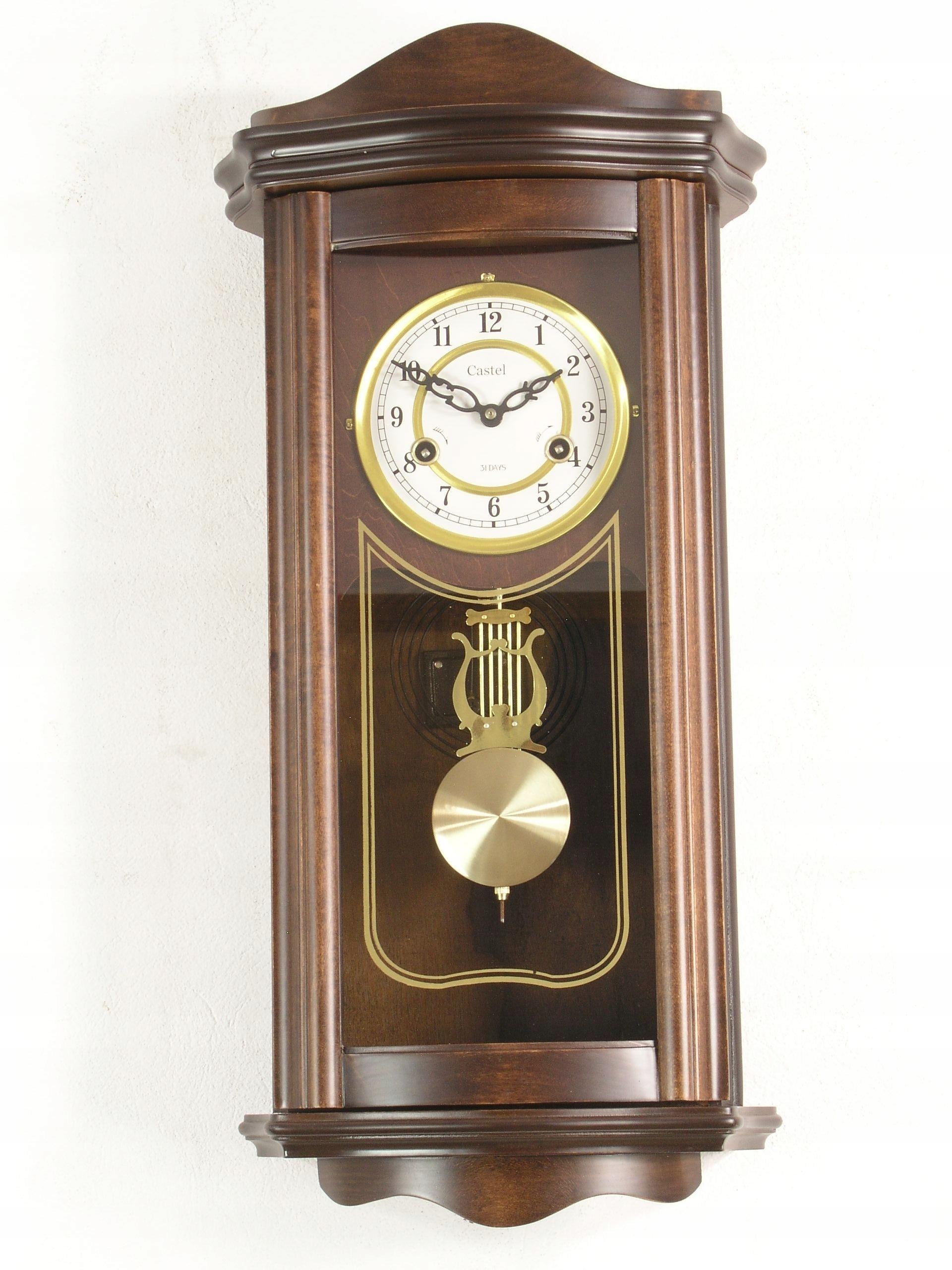 Zegar ścienny Z Wahadłem Retro Castel Clk537 7884161689