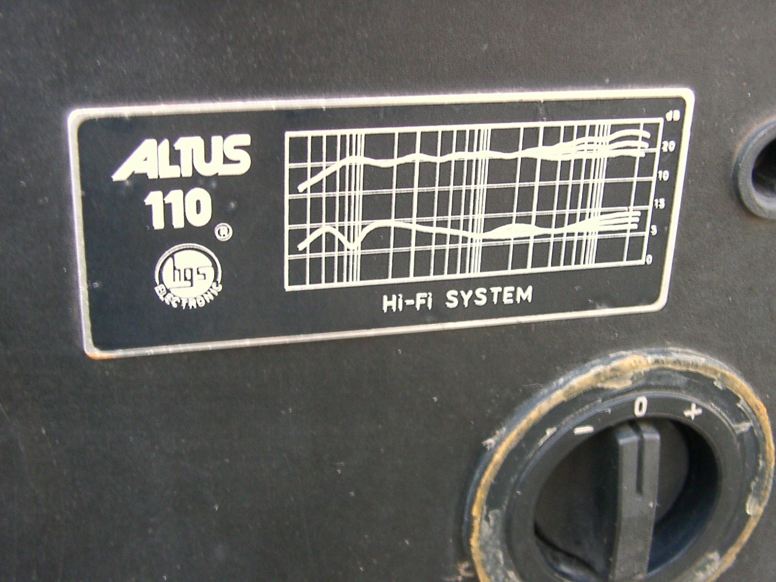 Kolumny ALTUS 110 (Unitra Tonsil) obudowy