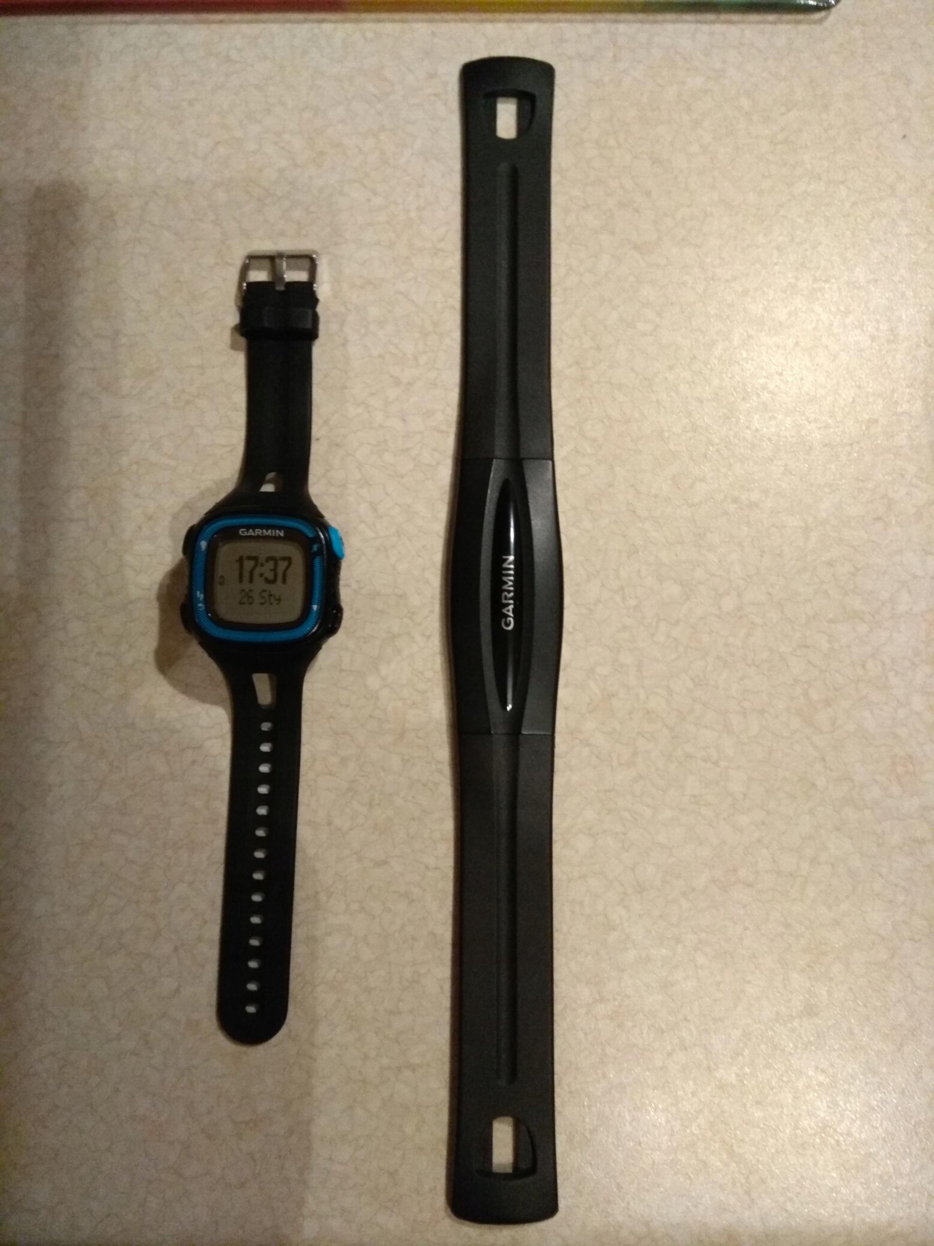 GARMIN FORERUNNER 15 GPS z czujnikiem tętna