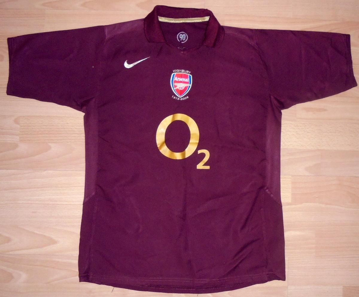 Koszulka Arsenal Londyn Nike S 2005/06