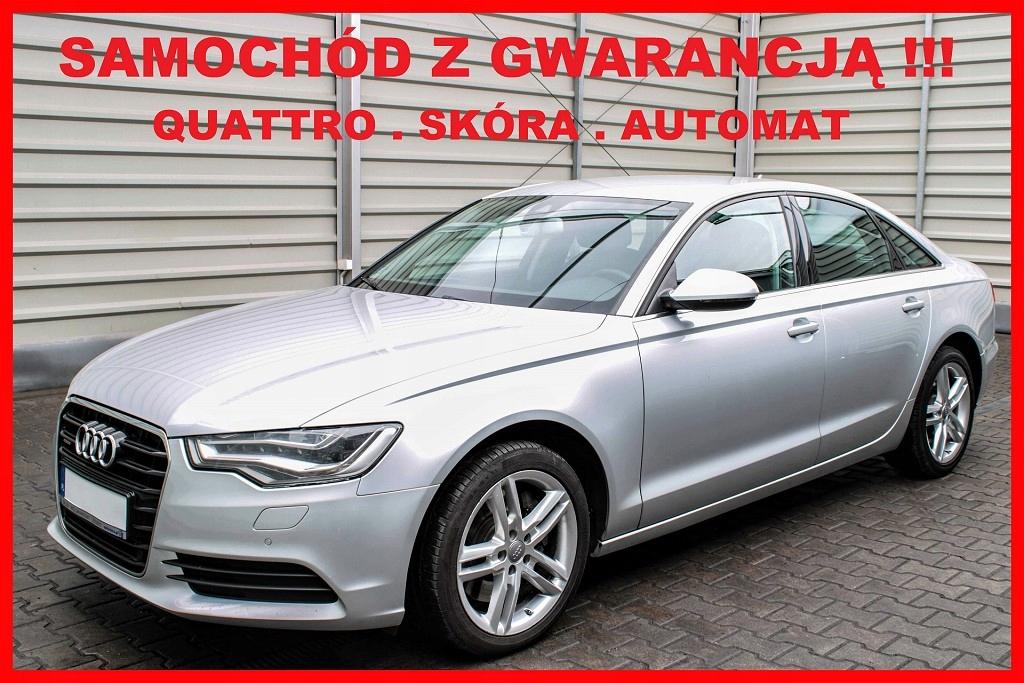 Audi A6 QUATRO + Automat + Navi + MATRIXY LED+ Skó