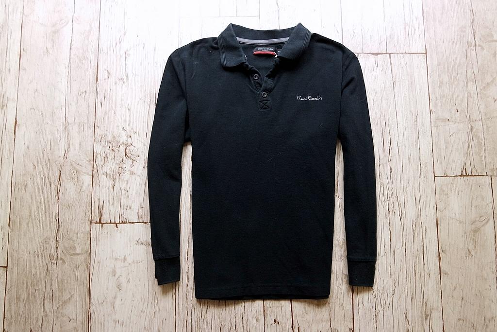 PIERRE CARDIN bluzka męska długi RĘKAW COTTON M