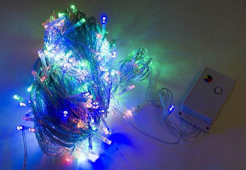 Lampki Choinkowe LED ZEW/WEW 200LED 20M multikolor