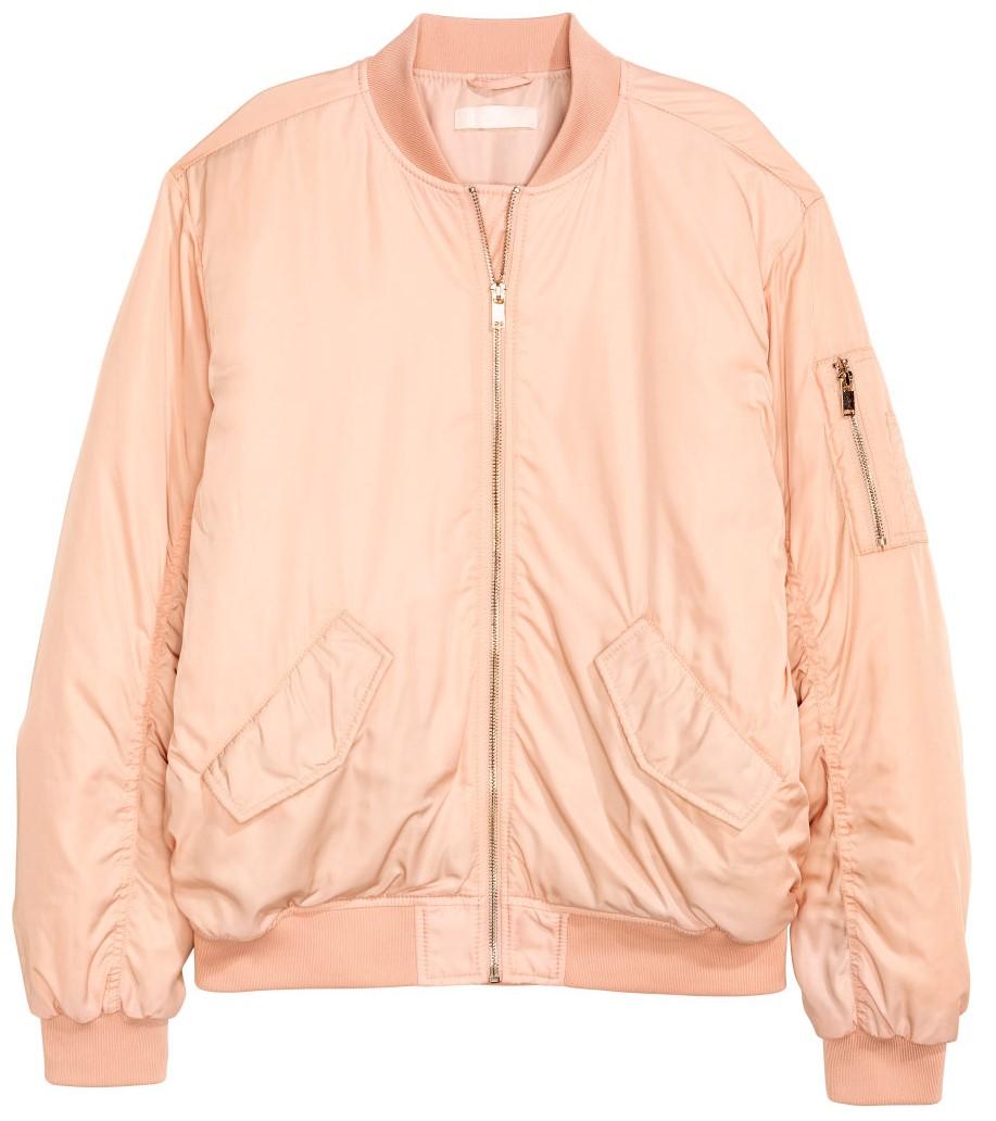 H&M KURTKA BOMBERTKA saynowa r. 38 pink
