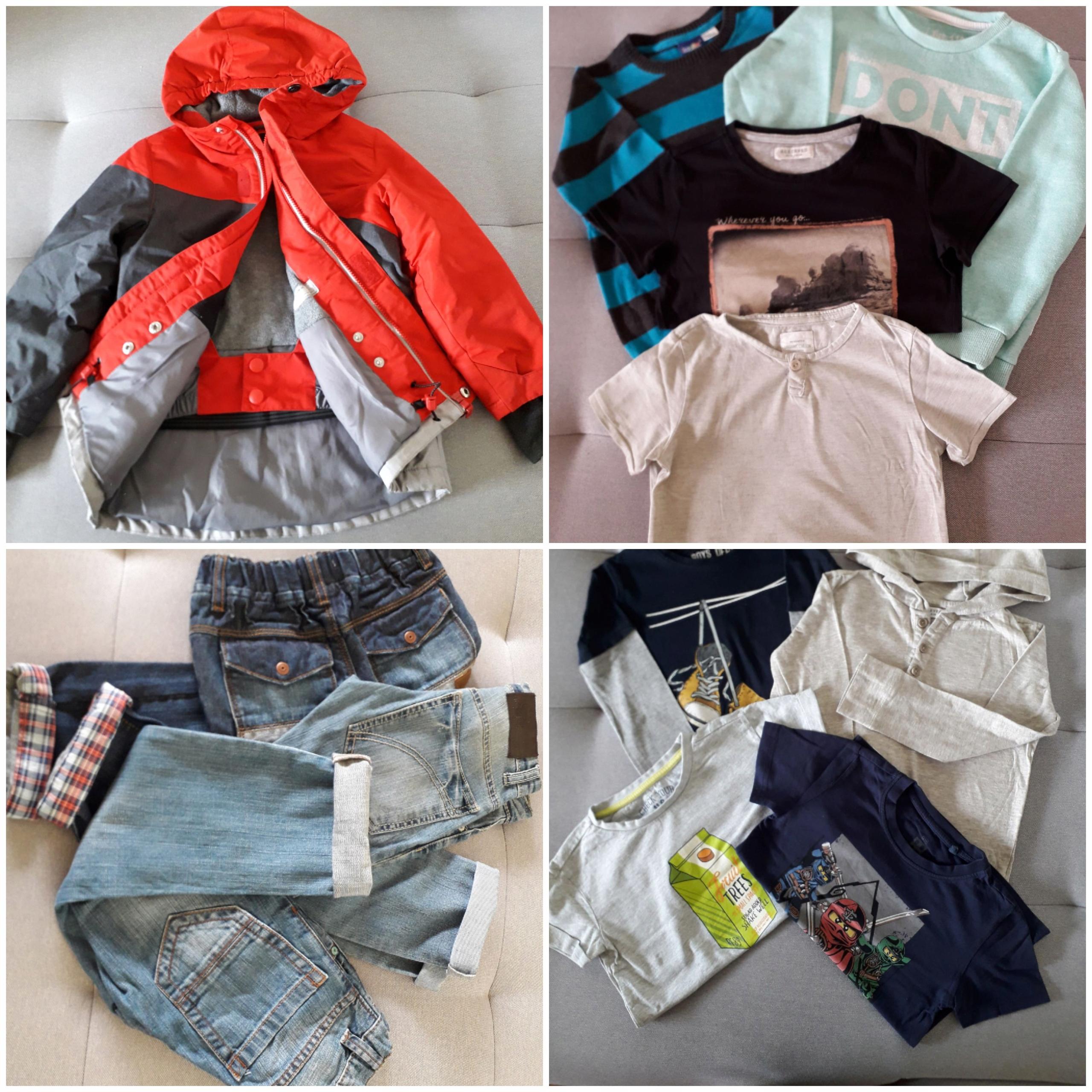 Ubrania dla chłopca jesień-zima roz 116 RESERVED