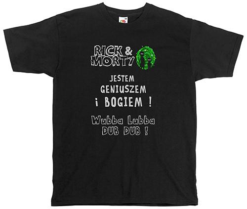 koszulka rick and morty RÓŻNErodzajeWYBÓR prezent