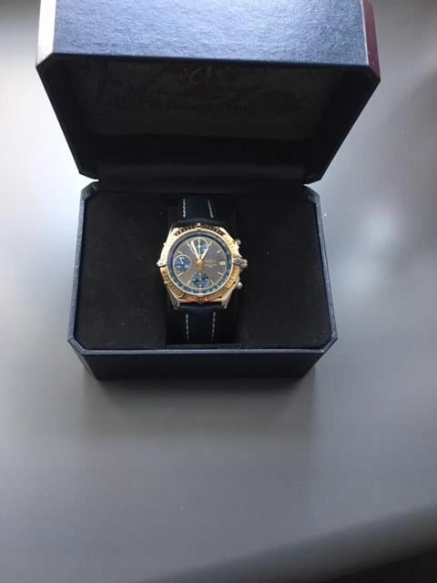 Zegarek Breitling Chronomat Stal / złoto !!