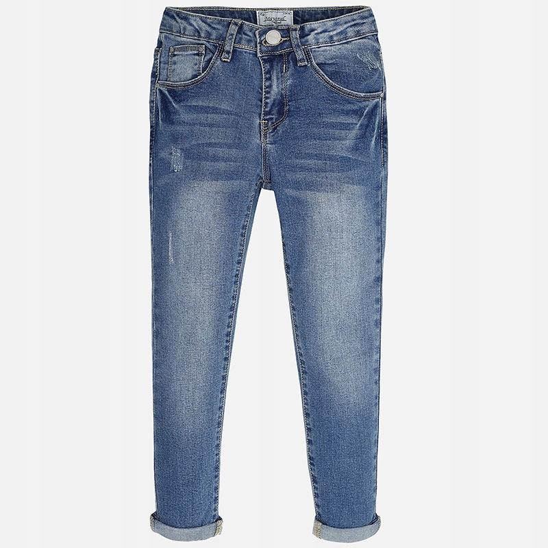 MAYORAL spodnie jeansowe T/16 162cm dziewczynka