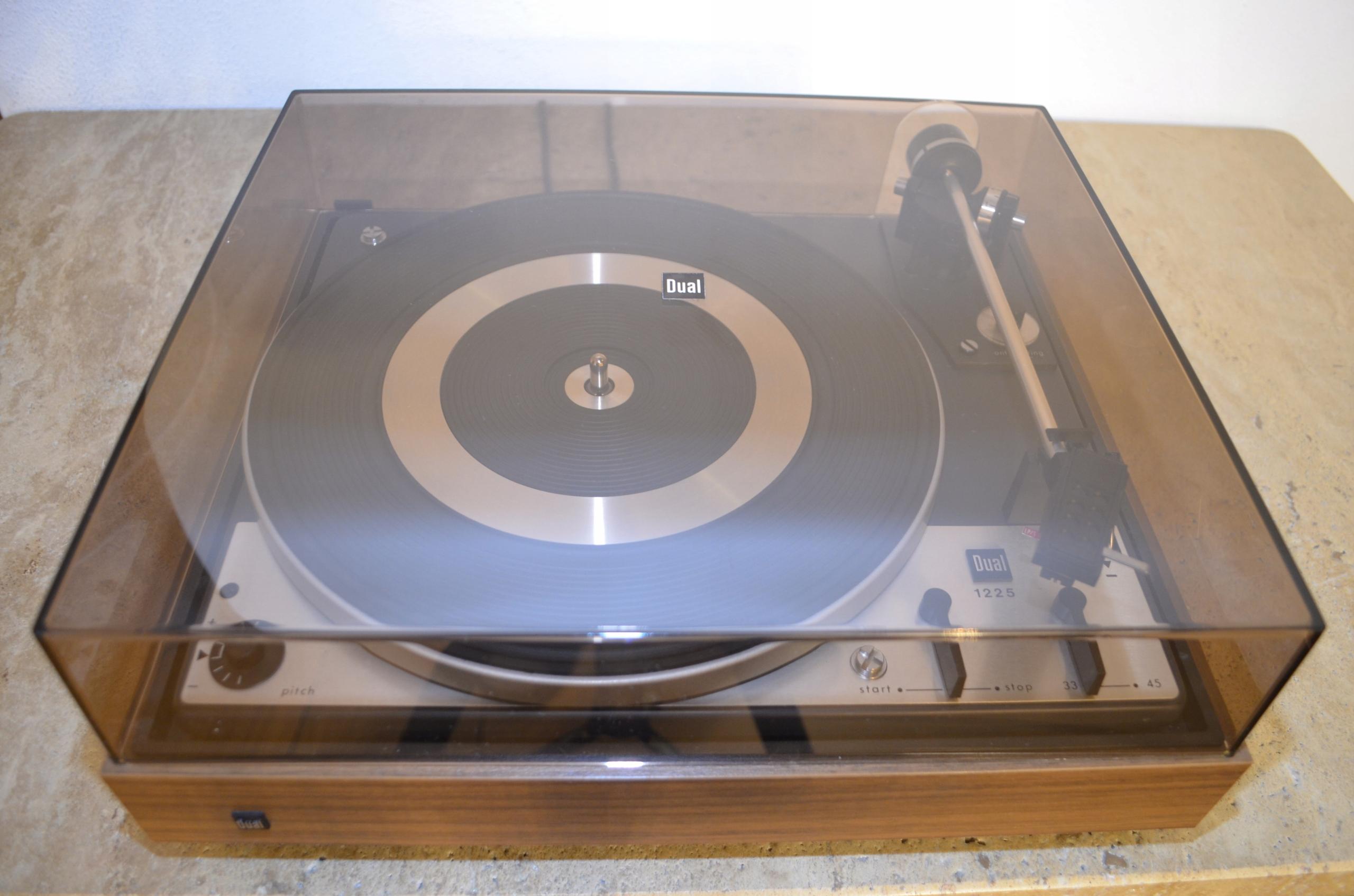 Piękny gramofon vintage Dual cs1225 rarytas