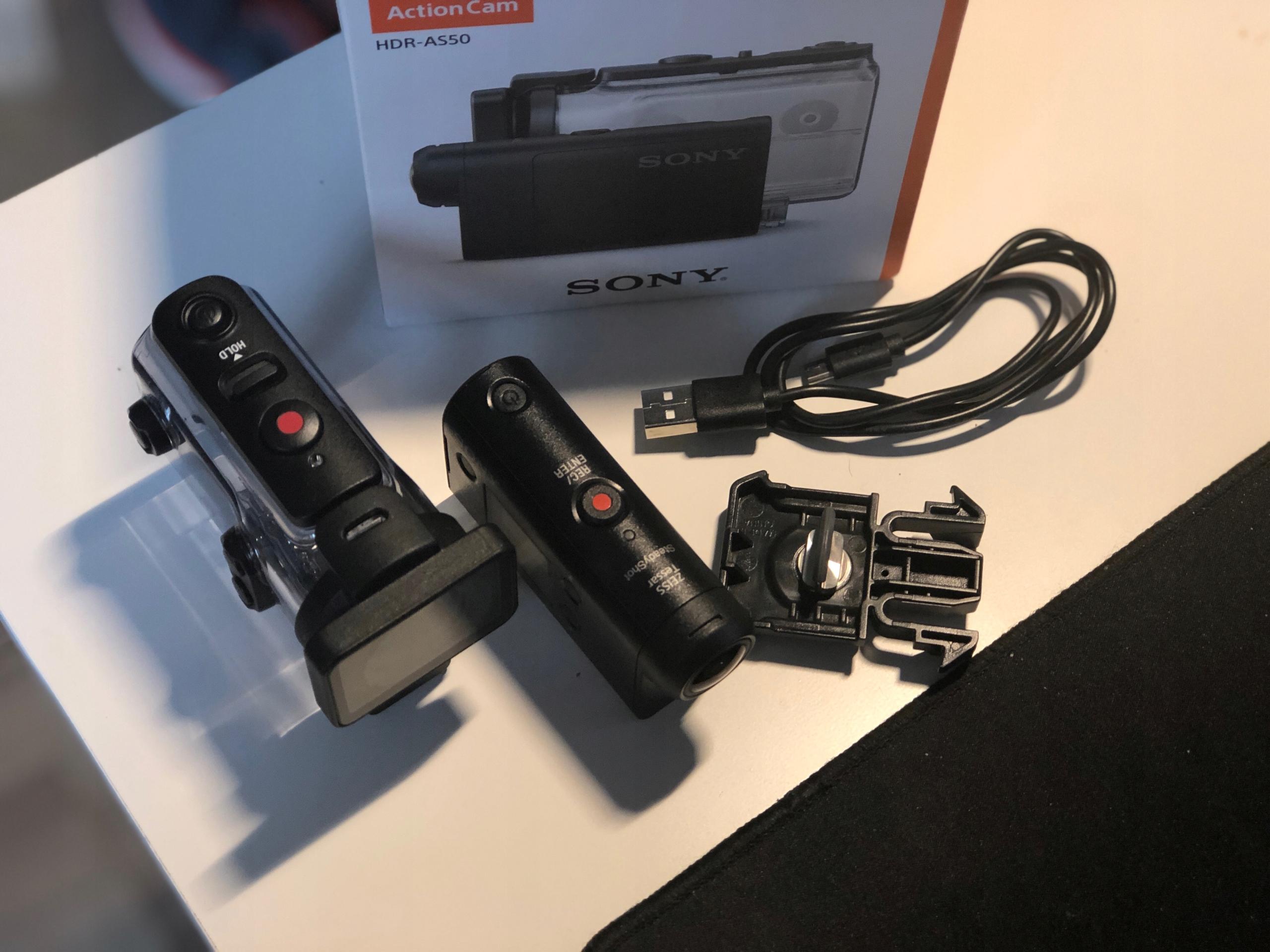 Sony HDR AS50 - Kamera sportowa wodoodporna