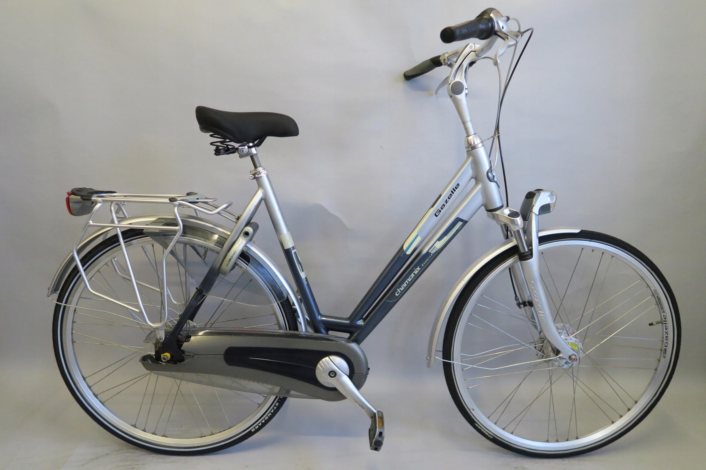 Wygodny rower holenderski Gazelle Chamonix Nexus 8