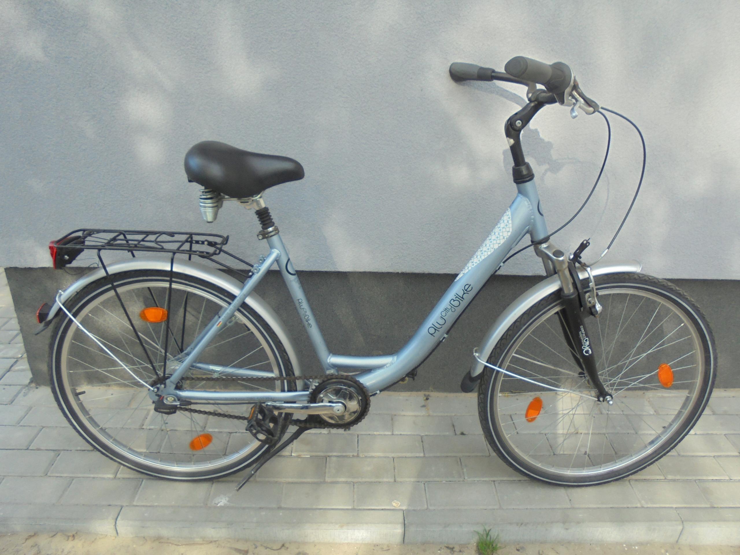 "Rower miejski AluCityBike, 47 cm, 26"",SRAM S7"