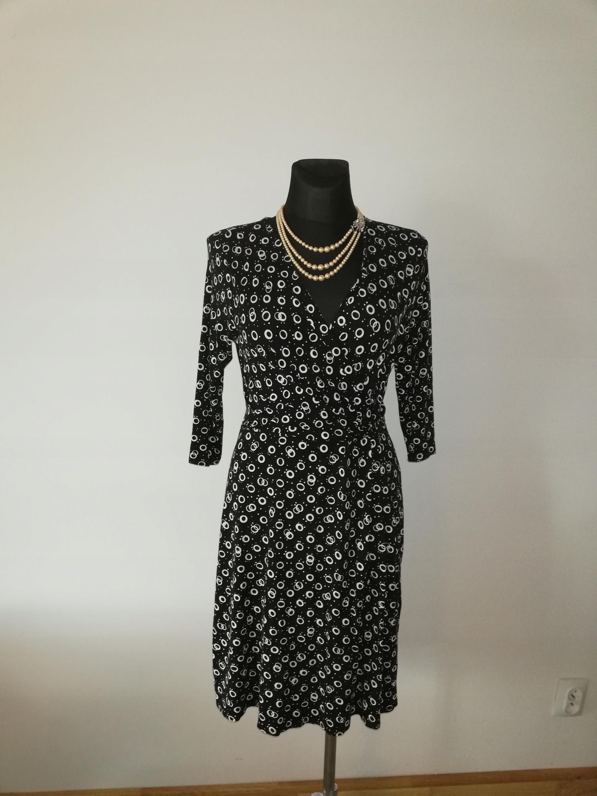 GEORGE sukienka nowa klasyk elegancji M/L