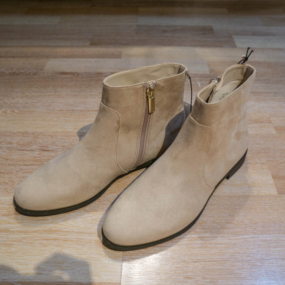 H&M buty zamszowe beżowe/ecru rozmiar 38