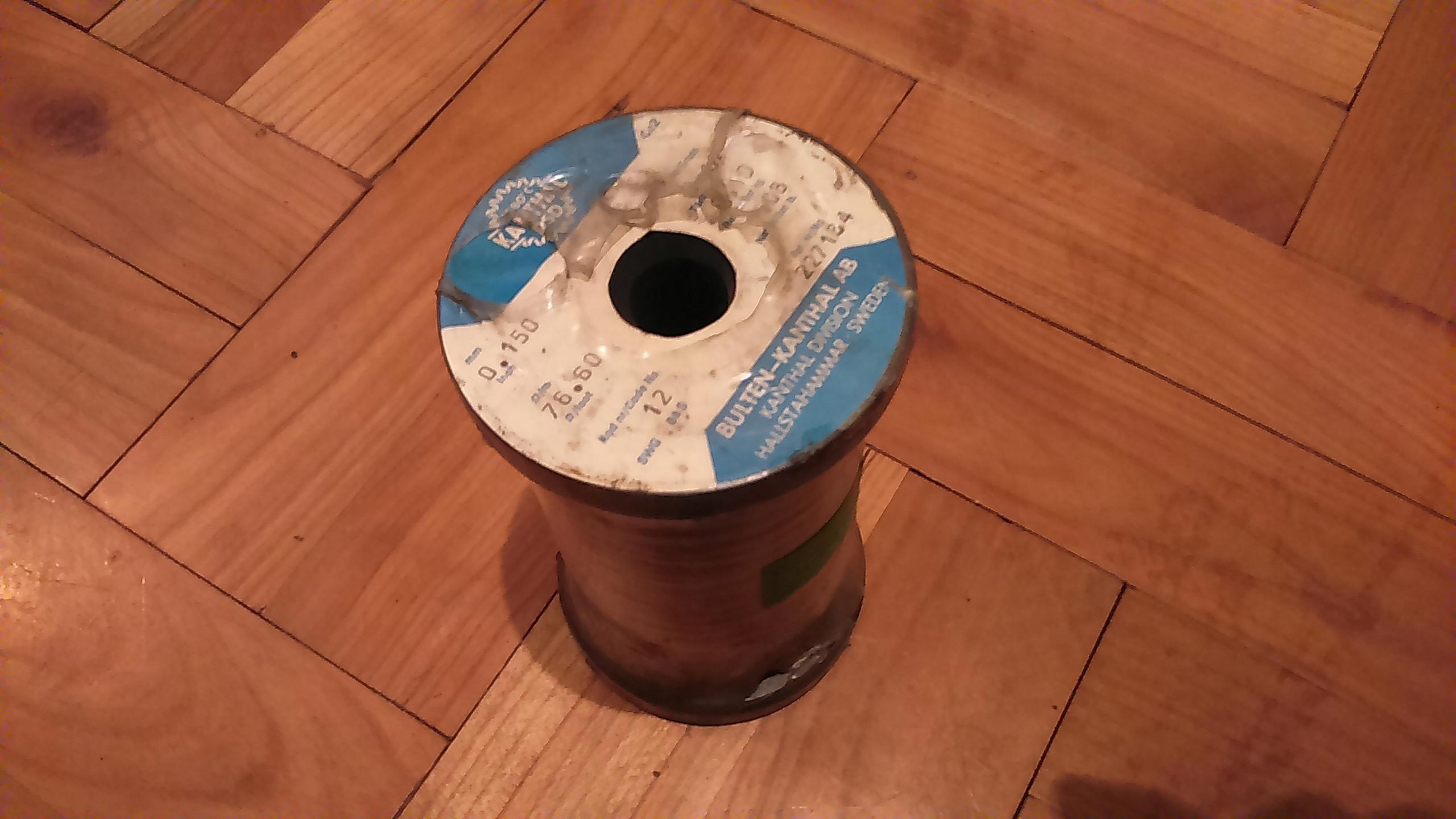 drut kanthal średnica 0,15 cała szpula waga 1kg