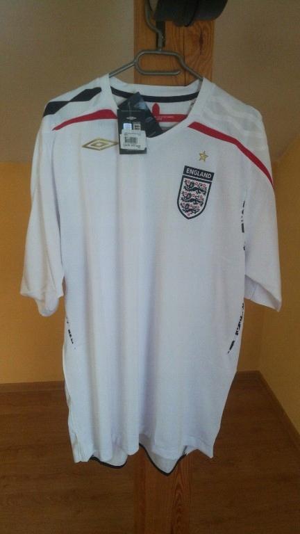 Nowa Koszulka Umbro England