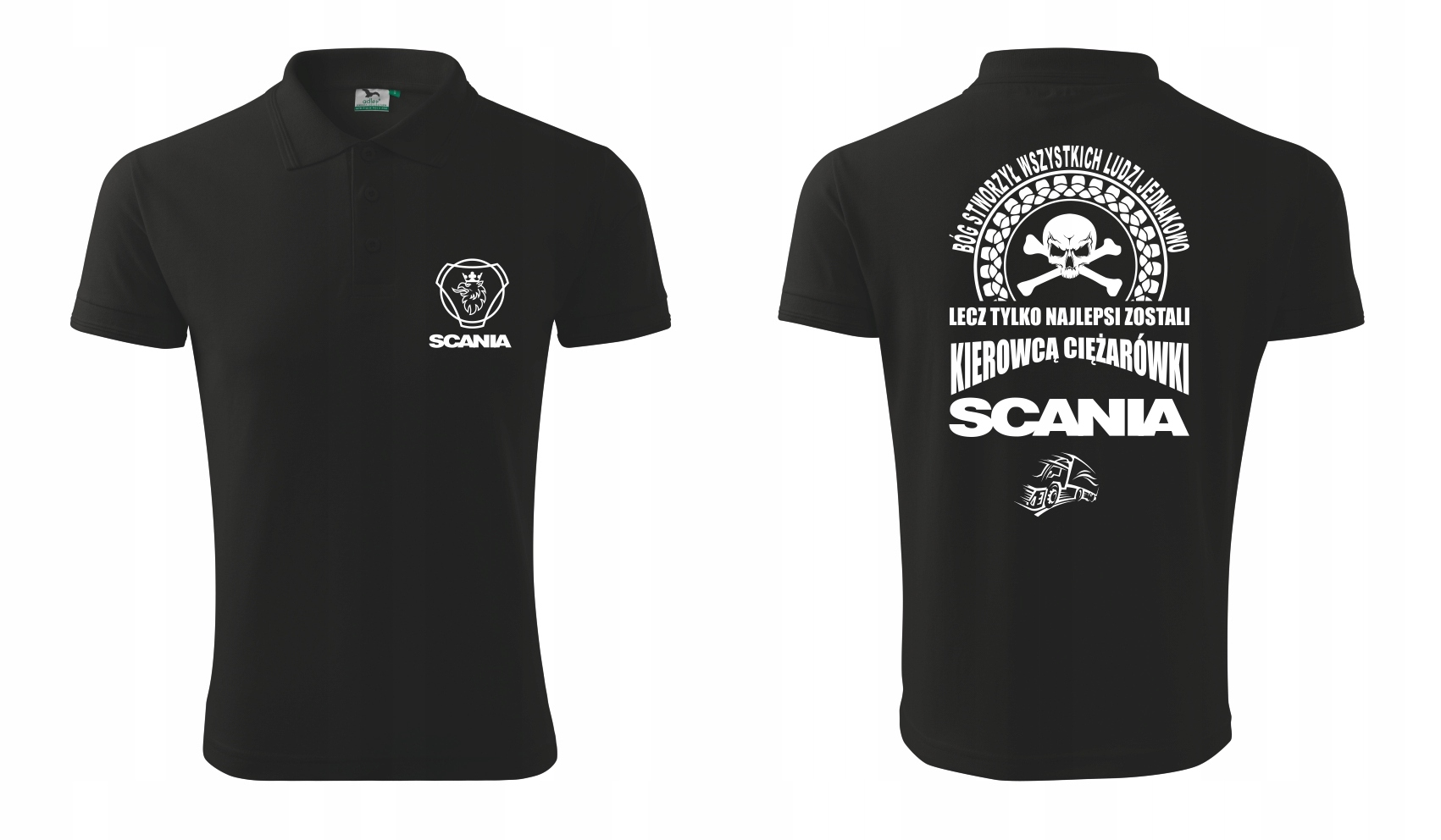 męska koszulka polo SCANIA 0010V0041A pkmkp