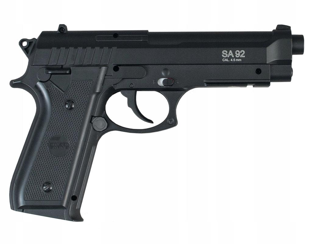 Wiatrówka Cybergun Swiss Arms PT92 4,5 mm - metal
