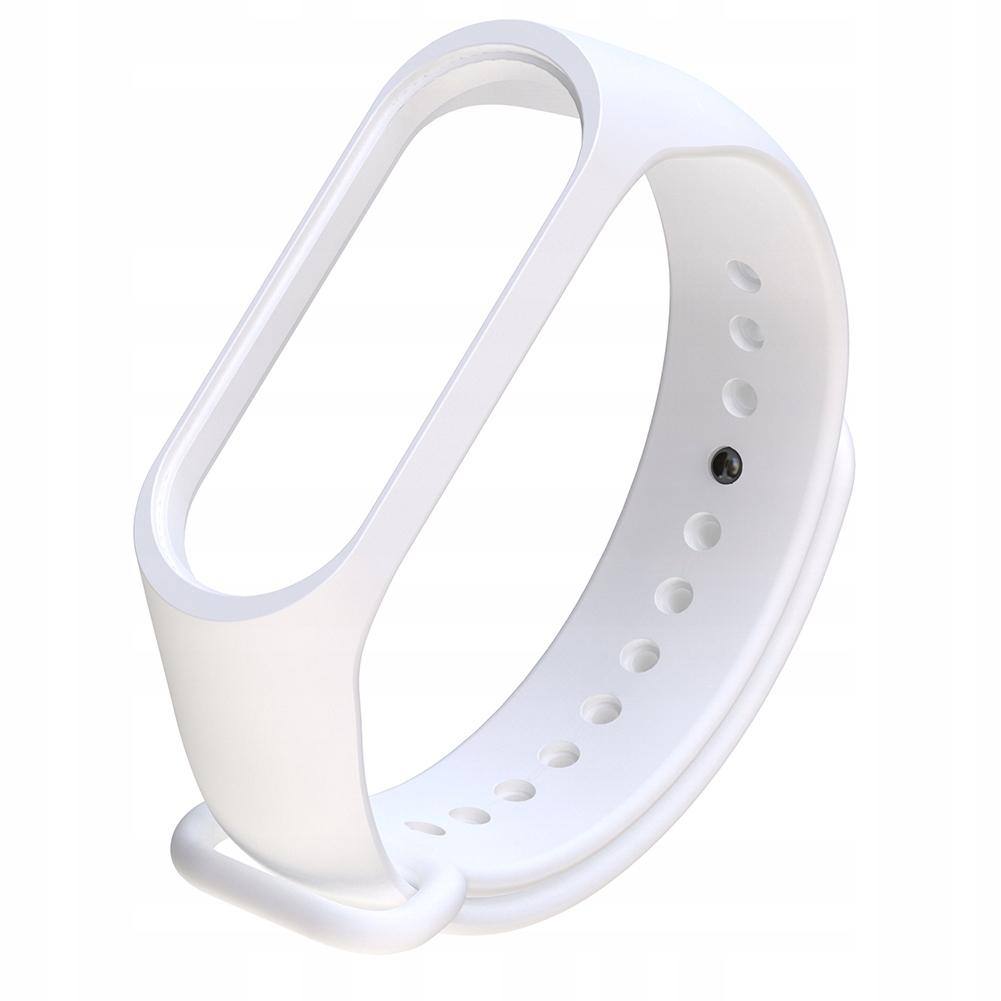 Silikonowy biały pasek do zegarka