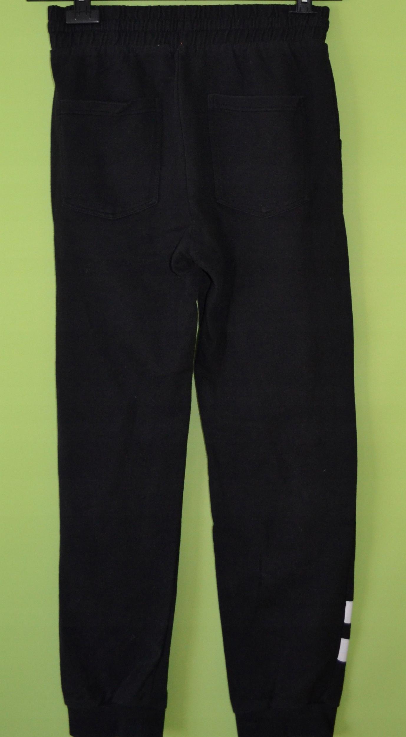 2824afdd0 Spodnie dresowe czarne PEPCO 13-14L 164 - 7584312560 - oficjalne ...