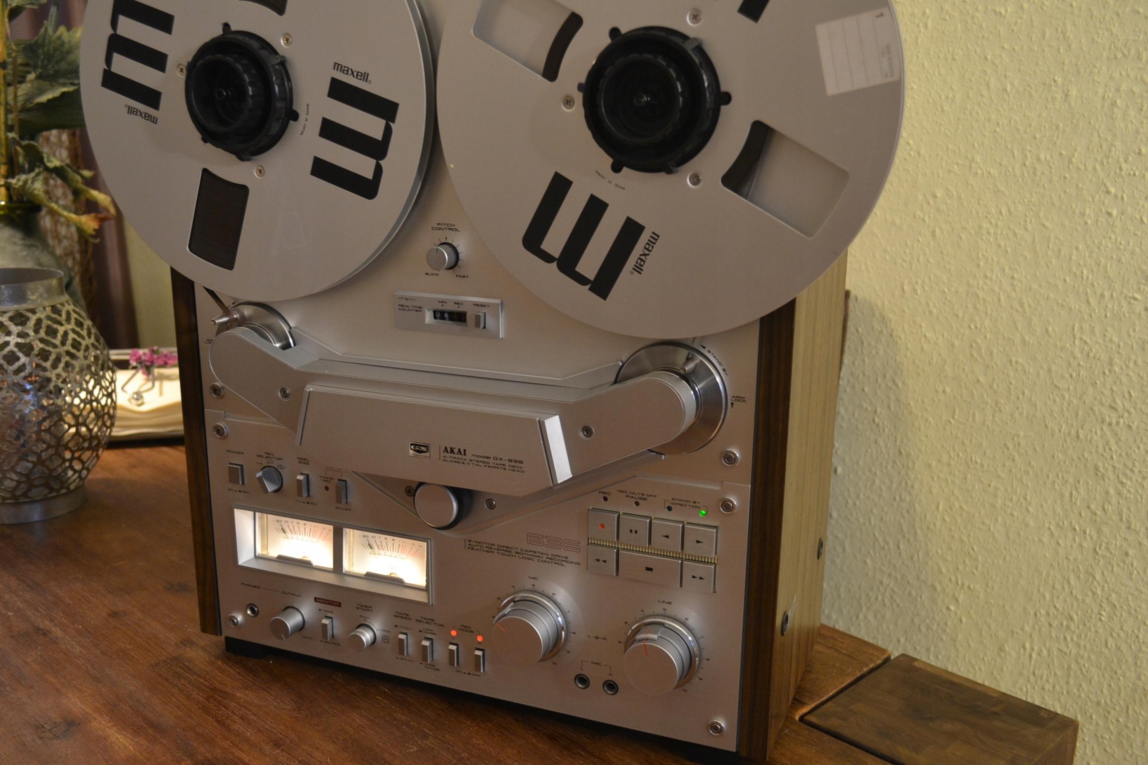 Akai GX636 magnetofon szpulowy.
