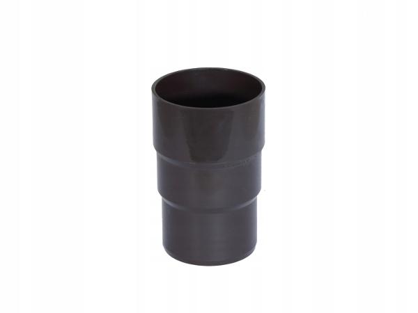 Złączka rury spust. PVC-U Gamrat 63mm ciemny brąz
