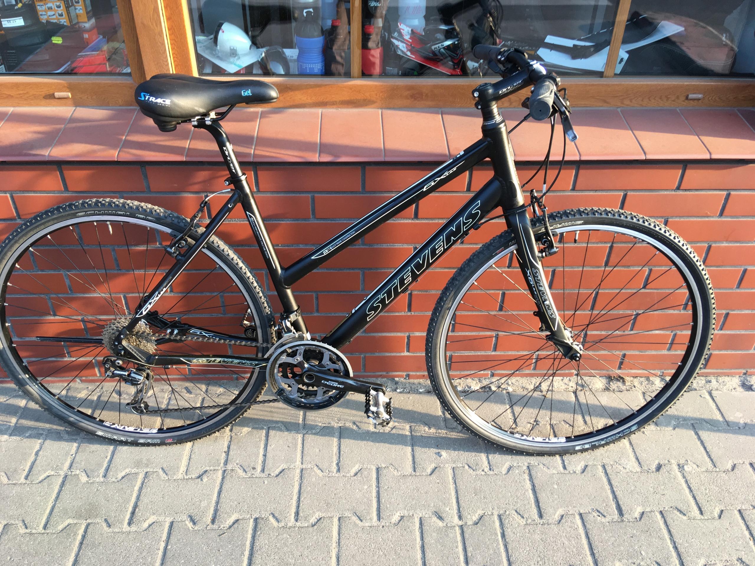 Rower crossowy STEVENS 6X LITE Shimano Deore