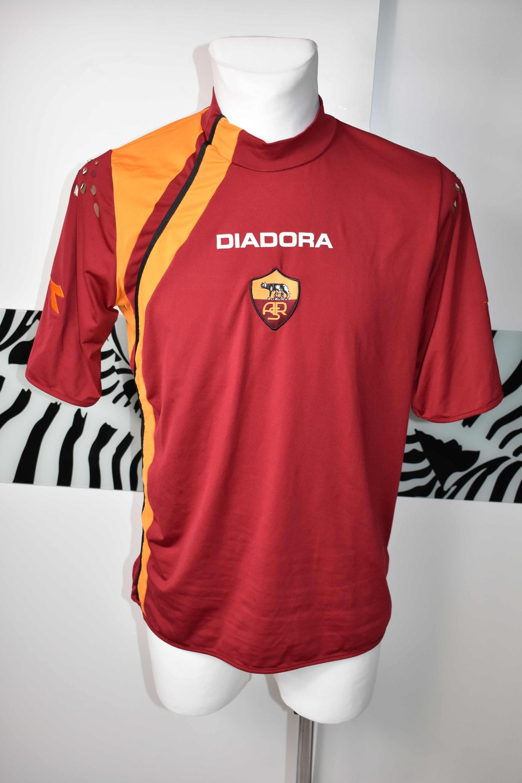 Roma koszulka diadora 2005 - 2006 sportowa okazja