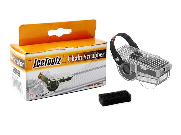Przyrząd IceToolz mycia czyszczenia łańcucha