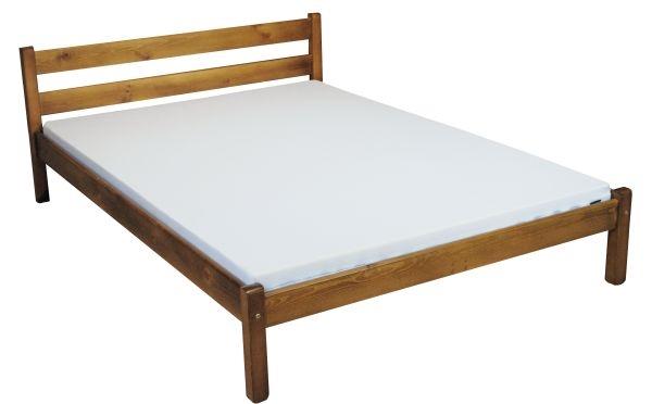 łóżko Europa 140x200 Drewniane Dąb Sosnowe 7348444401