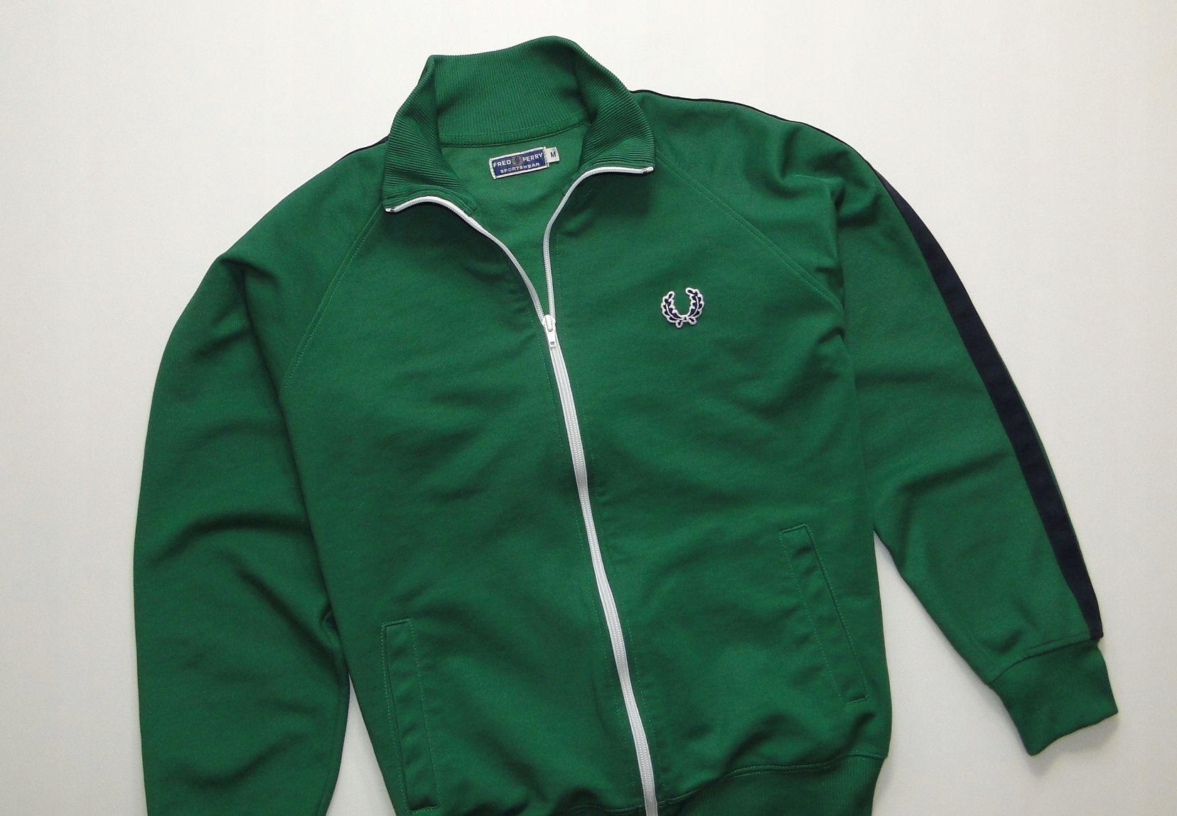 Bluza FRED PERRY Retro Green / M