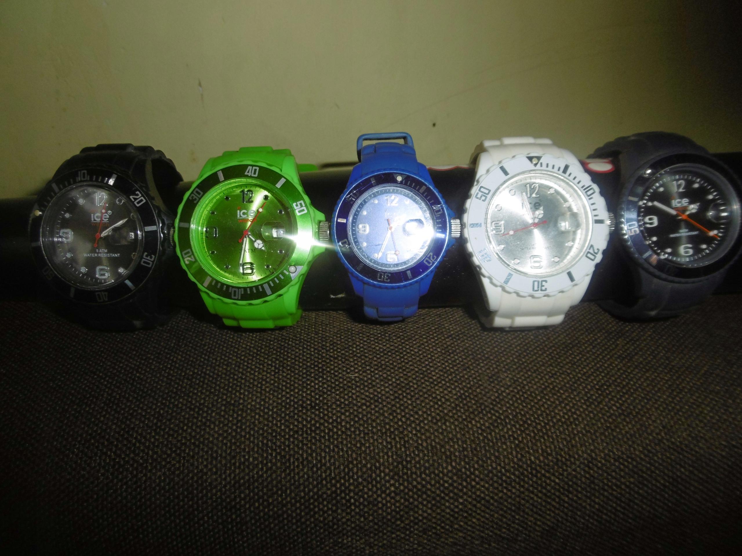 ICE Watch zestaw 5 zegarków !
