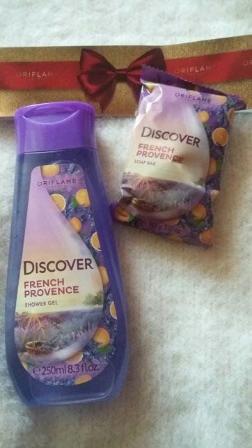 Zestaw Discover French Provence (żel +mydełko)