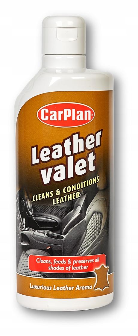 CarPlan Leather Valet Krem do skóry Czyści Nawilża