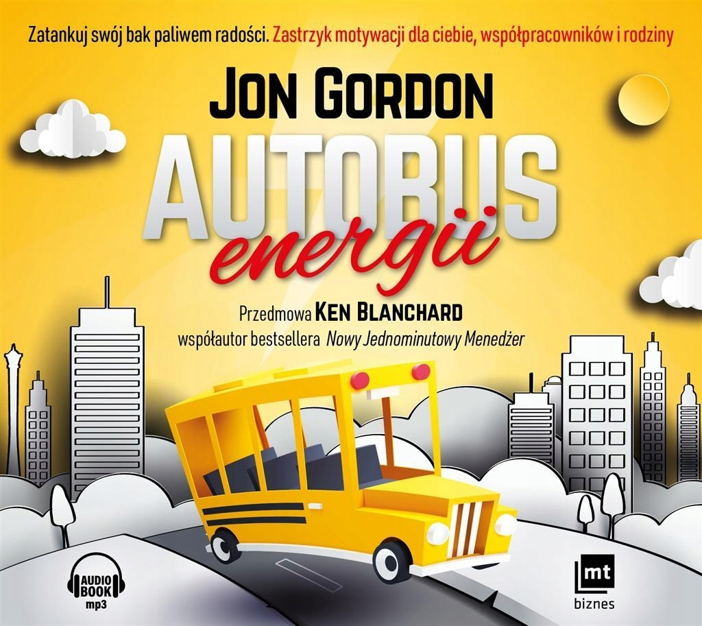 AUTOBUS ENERGII. AUDIOBOOK W.2018, JON GORDON